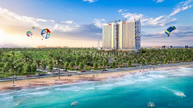 Bóc giá shop khối đế khách sạn vị trí trung tâm đắt giá nhất Quảng Bình - 1