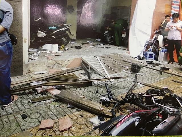 Nhóm khủng bố ném bom xăng vào trụ sở công an phường lãnh án - 3