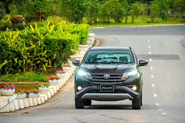 Chất SUV trên Toyota Rush tạo lợi thế khác biệt trước các đối thủ - 1