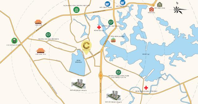 Vĩnh Yên Center City hút khách nhờ vị trí, pháp lý, hạ tầng chuẩn - 1