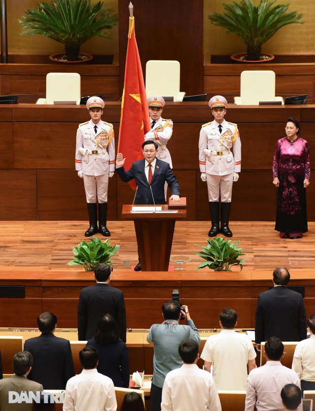 Ông Vương Đình Huệ đắc cử Chủ tịch Quốc hội - 3
