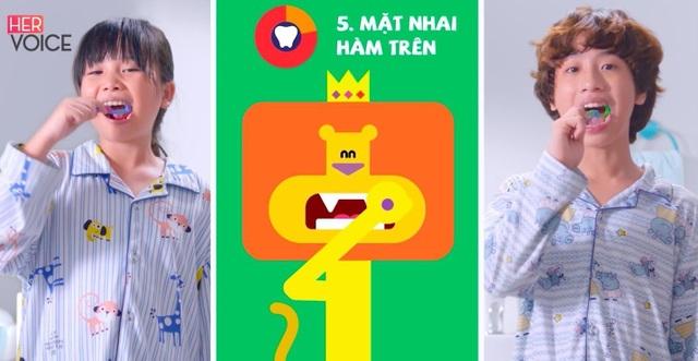 Hướng dẫn trẻ chăm sóc răng miệng đúng cách từ 2 tuổi - 2