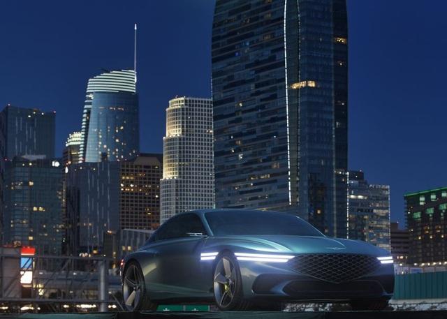 Genesis X Concept hứa hẹn sẽ là bom tấn trong làng xe chạy điện - 17