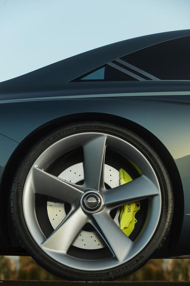 Genesis X Concept hứa hẹn sẽ là bom tấn trong làng xe chạy điện - 13
