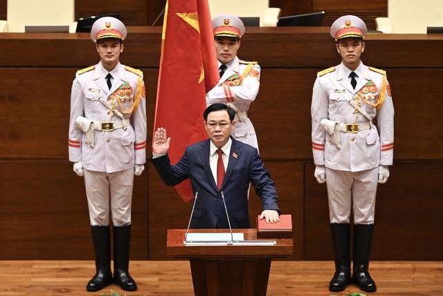 Ông Vương Đình Huệ đắc cử Chủ tịch Quốc hội - 2