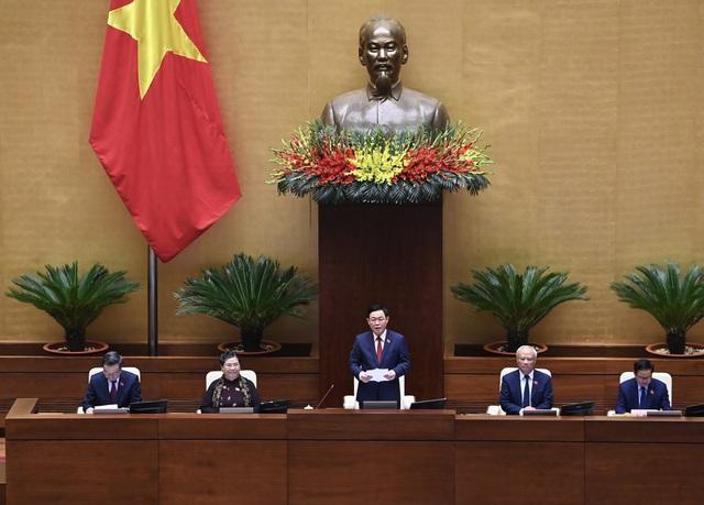 Quốc hội thống nhất miễn nhiệm 3 Phó Chủ tịch Quốc hội - 1