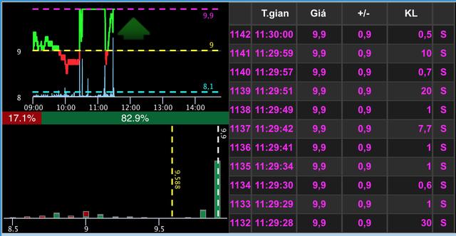Đau tim với pha tăng - giảm của cổ phiếu SHB và họ FLC - 1