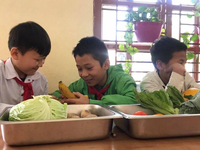 Học sinh thích thú khi giờ học là bắt sâu, là su hào, bắp cải, khoai tây... - 5