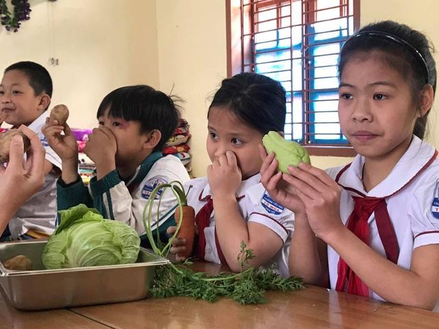 Học sinh thích thú khi giờ học là bắt sâu, là su hào, bắp cải, khoai tây... - 2