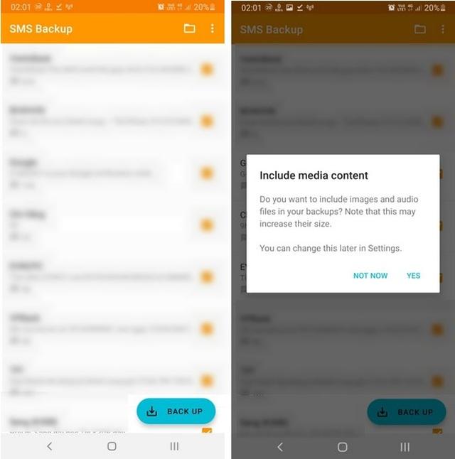 Thủ thuật giúp sao lưu và phục hồi toàn bộ tin nhắn trên smartphone - 1