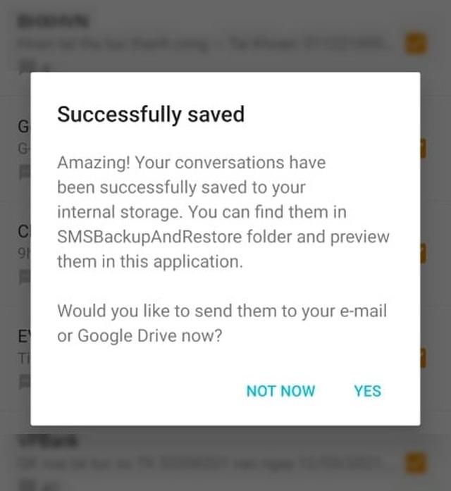 Thủ thuật giúp sao lưu và phục hồi toàn bộ tin nhắn trên smartphone - 2