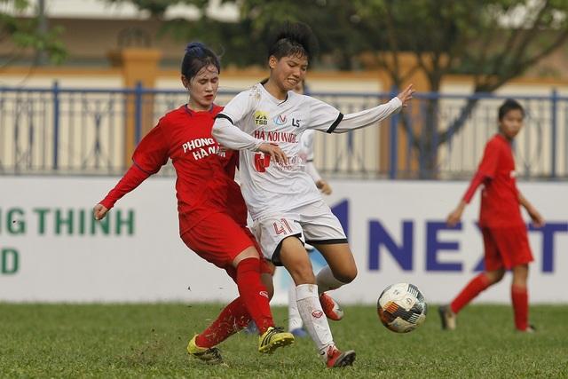 U19 Hà Nội Watabe lại thắng đậm ở giải Vô địch U19 Quốc gia nữ 2021 - 1