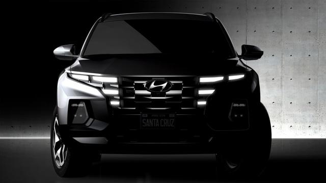 Xe bán tải Hyundai Santa Cruz rục rịch trình làng - 3