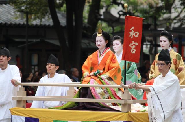 Lễ hội ngược dòng thời gian tái hiện lịch sử nghìn năm của cố đô Kyoto - 5