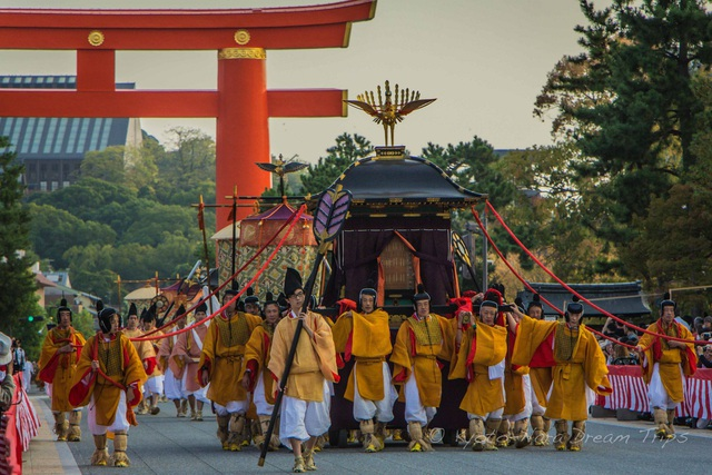 Lễ hội ngược dòng thời gian tái hiện lịch sử nghìn năm của cố đô Kyoto - 4