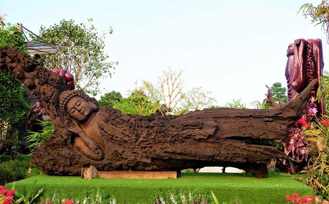 Choáng ngợp với bộ sưu tập gỗ lũa siêu khủng độc lạ nhất miền Tây - 4