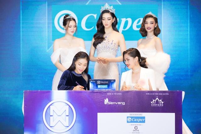 Casper tiếp tục là nhà tài trợ kim cương Miss World Vietnam 2021 - 2
