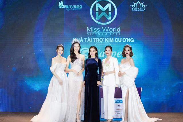 Casper tiếp tục là nhà tài trợ kim cương Miss World Vietnam 2021 - 3