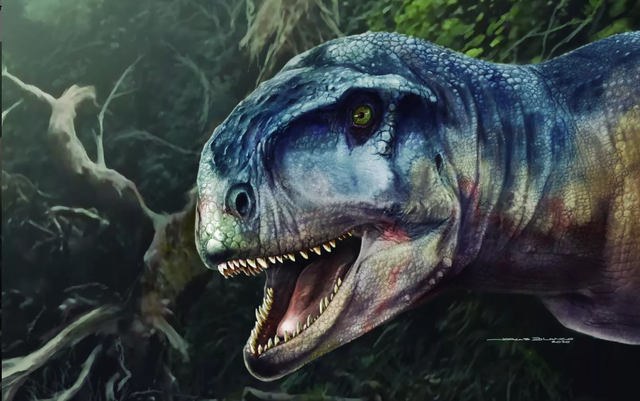 Phát hiện hóa thạch loài khủng long có mệnh danh thần chết - 1