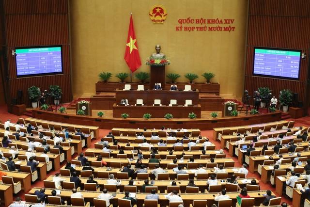 1 Ủy viên Bộ Chính trị, 2 Ủy viên Trung ương đắc cử Phó Chủ tịch Quốc hội - 2