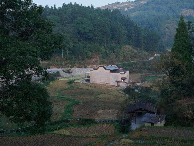 Quán cà phê kiêm hiệu sách, nằm giữa cánh đồng ở ngôi làng cổ 800 năm tuổi - 2