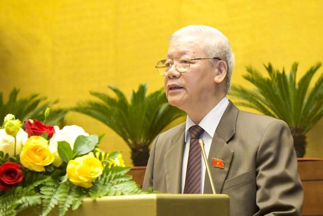 Chủ tịch nước Nguyễn Phú Trọng trình miễn nhiệm Thủ tướng Nguyễn Xuân Phúc - 1
