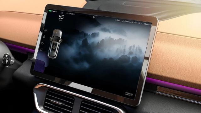 Xe điện VinFast VF e35 lộ diện với kích thước ngang BMW X3, sẽ bán tại Mỹ - 7