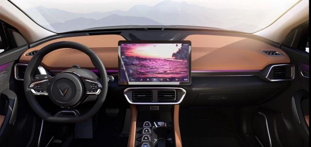 Xe điện VinFast VF e35 lộ diện với kích thước ngang BMW X3, sẽ bán tại Mỹ - 3