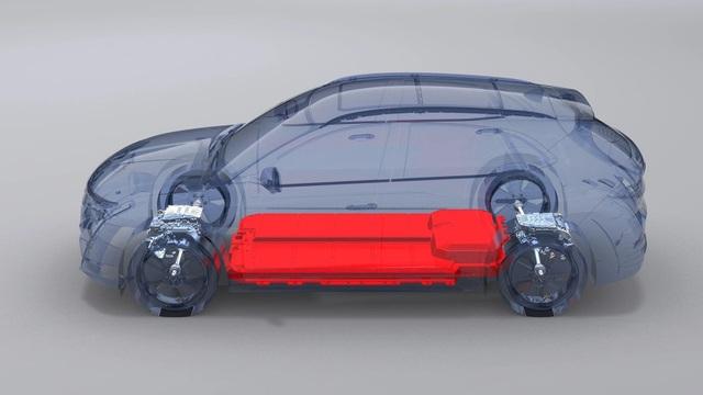 Xe điện VinFast VF e35 lộ diện với kích thước ngang BMW X3, sẽ bán tại Mỹ - 4