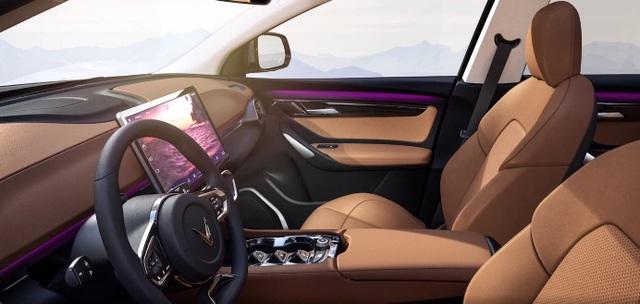 Xe điện VinFast VF e35 lộ diện với kích thước ngang BMW X3, sẽ bán tại Mỹ - 6