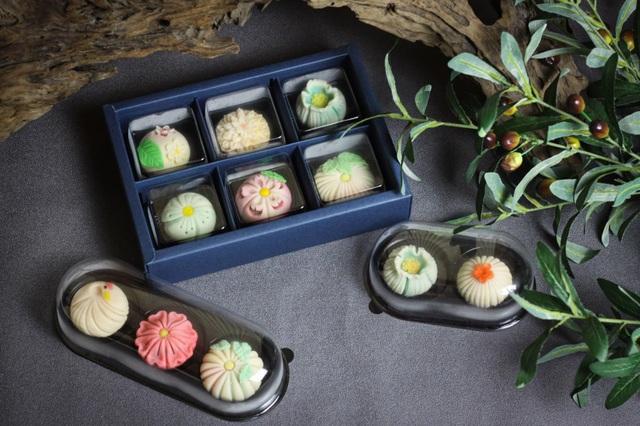Vợ đảm làm bánh wagashi vừa ngon vừa đẹp khiến chồng ăn hoài không chán - 4