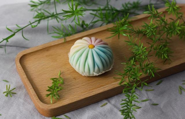 Vợ đảm làm bánh wagashi vừa ngon vừa đẹp khiến chồng ăn hoài không chán - 12