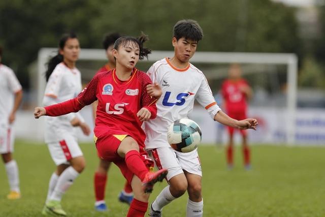 Giải bóng đá nữ Vô địch U19 Quốc gia 2021: U19 Than KSVN đứt mạch thắng - 1