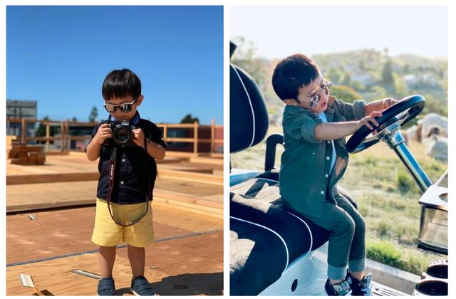 Con trai Đan Trường mặc đồ hiệu đắt đỏ đi du lịch Hawaii chào hè - 4