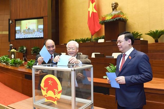 Quốc hội xem xét việc miễn nhiệm Chủ tịch nước Nguyễn Phú Trọng - 1