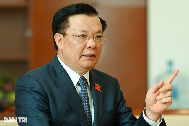 Bộ trưởng Bộ Tài chính Đinh Tiến Dũng giữ chức Bí thư Thành ủy Hà Nội - 1