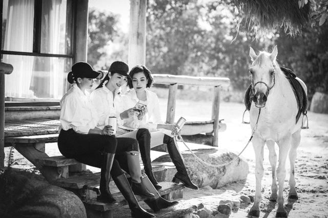 Tứ đại mỹ nhân Việt quý phái trong bộ ảnh đen trắng - 4