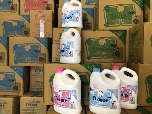 Cận cảnh cơ sở sản xuất nước giặt Thái Lan giả mạo quy mô lớn tại Hà Nội - 3