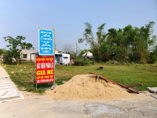Quảng Nam: Không để sốt giá và bong bóng bất động sản trên địa bàn - 1