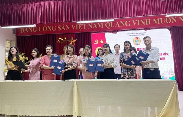 Ngành giáo dục Quảng Ninh khởi động chương trình 75.000 sáng kiến, vượt khó - 1