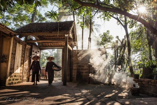 Người phụ nữ thổi hồn vào những bức tranh làng quê Việt - 3