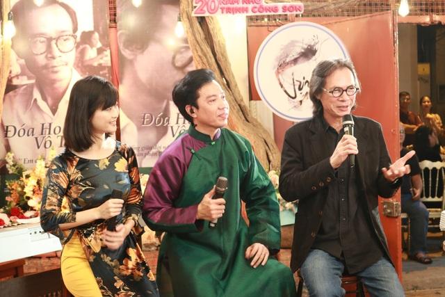 Trần Lực bồi hồi khi từ Hà Nội vào thắp nhang cho cố nhạc sĩ Trịnh Công Sơn - 6