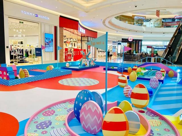 Sân golf cho bé tại Crescent Mall mừng lễ hội Phục Sinh - 2