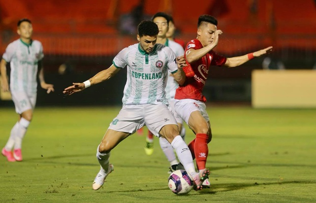 Lee Nguyễn không thi đấu, CLB TPHCM thua đậm Bình Định trên sân nhà - 2