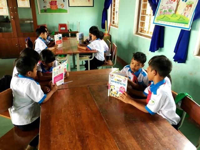 Lần đầu tiên huyện miền núi Nam Trà My đưa thư viện vào lớp học - 5