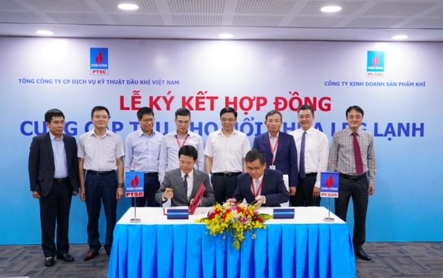 PV GAS và PTSC ký kết Hợp đồng cung cấp tàu kho nổi chứa LPG lạnh tại khu vực phía Bắc - 4