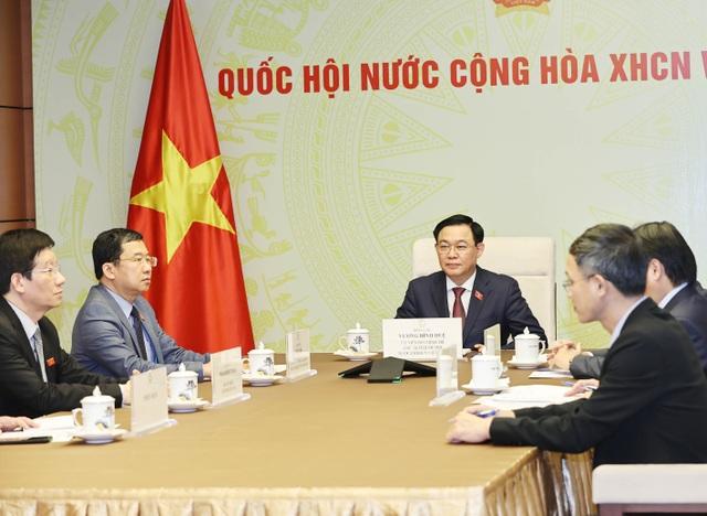Hoạt động ngoại giao đầu tiên của Chủ tịch Quốc hội Vương Đình Huệ - 2