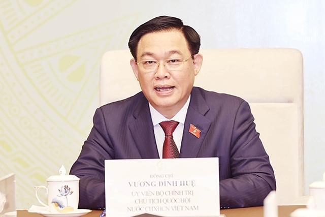 Hoạt động ngoại giao đầu tiên của Chủ tịch Quốc hội Vương Đình Huệ - 1