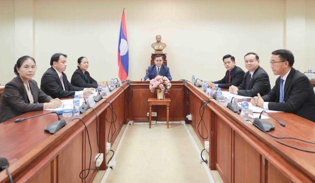 Hoạt động ngoại giao đầu tiên của Chủ tịch Quốc hội Vương Đình Huệ - 3