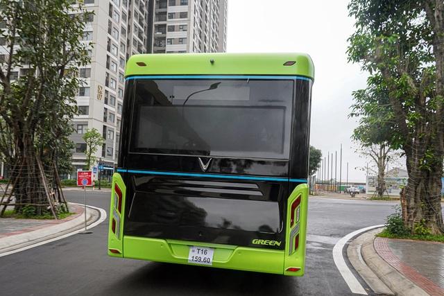 Xe buýt điện VinBus bắt đầu chạy thử nghiệm tại Hà Nội - 2